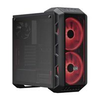 Cooler Master MasterCase H500 RGB Tempered Glass ATX Mid-Tower Computer Case - Iron Gray
