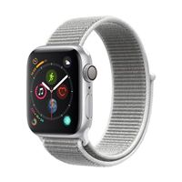 Apple Watch Series 4 GPS 40mm Silver Aluminum Smartwatch - Seashell Sport Band