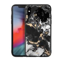 Laut Mineral Glass Case for iPhone XS - Mineral Black