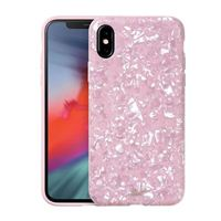 Laut Pearl Case for iPhone XS - Pink Rose