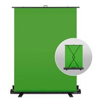 Elgato Green Screen w/ Collapsible Stand, Auto-Locking and Self-Rewinding, Wrinkle-Resistant Chroma-Green Fabric