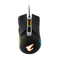 Gigabyte Aorus M5 Wired RGB Gaming Mouse - Black