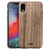 Laut Pinnacle Case for iPhone XR - Walnut
