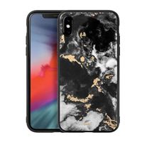 Laut Mineral Glass Case for iPhone XS Max - Mineral Black