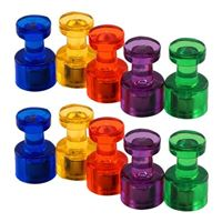 Master Magnetics Powerful Push Pin Magnets - 10 Pack