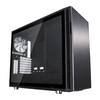 Fractal Design Define R6 USB-C Tempered Glass eATX Mid-Tower Computer Case - Black