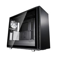 Fractal Design S2 Tempered Glass eATX Mid-Tower Computer Case - Black