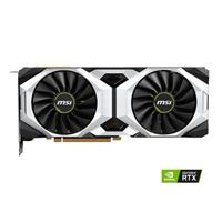 MSI Ventus GeForce RTX 2080 Ti Overclocked Dual-Fan 11GB GDDR6 PCIe Video Card