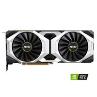 MSI Ventus GeForce RTX 2080 Overclocked Dual-Fan 8GB GDDR6 PCIe Video Card