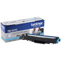 Brother TN-227C High Yield Cyan Toner Cartridge
