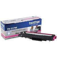Brother TN-227M High Yield Magenta Toner Cartridge