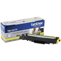 Brother TN-227Y High Yield Yellow Toner Cartridge