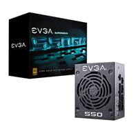 EVGA SuperNOVA 550 GM 550 Watt 80 Plus Gold SFX Fully Modular...