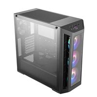 Cooler Master MasterBox MB530P ATX Mid-Tower Computer Case with Tempered Glass - Black