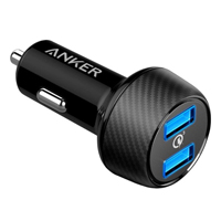 Anker PowerDrive Speed 2 w/ Quick Charge 3.0 and PowerIQ