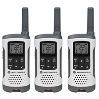 Motorola 3-Pack T260TP Two-Way Radio - White