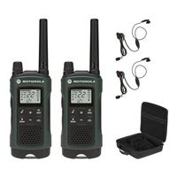 Motorola 2-Pack T465 Two-Way Radio - Green