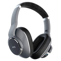 Samsung AKG Wireless Headphones Series N700NC - Silver