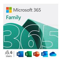 Microsoft365 Family - 1 Year, Up to 6 People