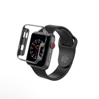 Zagg InvisibleShield Luxe Bumper for Apple Watch Series 1 - Black