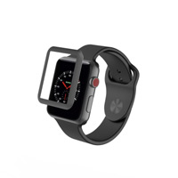 Zagg InvisibleShield Luxe 42mm Bumper for Apple Watch Series 1 - Black