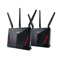 ASUS RT-AC86U AC2900 Dual-Band Gigabit Wireless AC Router - w/ AiMesh Support - 2 Pack
