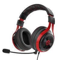 LucidSound ESports Stereo Gaming Headset - Black/Red