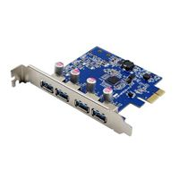 Visiontek 4 Port USB 3.0 x1 PCIe Internal Card