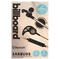 Billboard Bluetooth Earbuds - Black