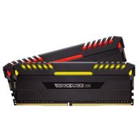 Corsair Vengeance RGB 32GB 2 x 16GB DDR4-3200 PC4-25600 CL16 Dual Channel Desktop Memory Kit
