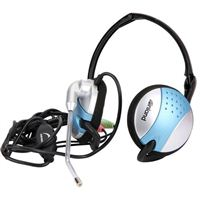 Inland 3500 Foldable Headset - Grey