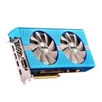 Sapphire Technology Nitro+ Radeon RX 590 Overclocked Dual-Fan 8GB GDDR5 PCIe Video Card - Blue