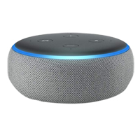Amazon Echo Dot (3rd Generation - Heather Gray)
