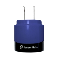iEssentials Dual USB 2.1 A Wall Charger - Blue