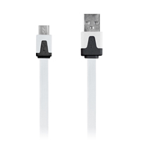 Digipower Micro USB Charge/ Sync Cable 3.3 ft. - White