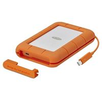 LaCie 2TB Rugged Thunderbolt/USB-C Portable Hard Drive