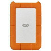 LaCie Rugged USB-C 2TB Portable External Hard Drive