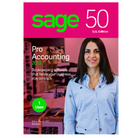 Sage Software Sage 50 Pro Accounting 2019