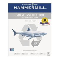 Hammermill Great White 100 Recycled Copy Paper