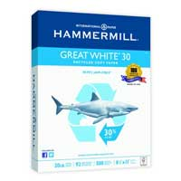 Hammermill Great White 30% Recycled Copy Paper