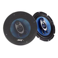 "Pyle PL63BL 6.5"" Speaker Pair with Wire"