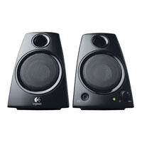 Logitech Z130 2.0 Computer Speakers (Refurbished)