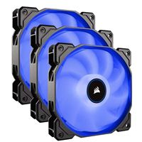 Corsair AF120 Blue LED Hydraulic Bearing 120mm Case Fan - Triple Pack