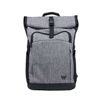 "Acer Predator Rolltop Jr. Laptop Backpack fits Screens up to 15.6"" - Gray/ Black"