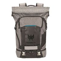 "Acer Predator Rolltop Laptop Backpack fits Screens up to 15.6"" - Gray/ Black"