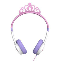 Zagg Little Rockerz Princess Costume Headphones - Pink/Purple