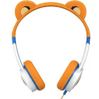 Zagg Little Rockerz Tiger Costume Headphones - Orange