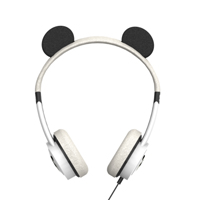 Zagg Little Rockerz Panda Headphones - Black/White