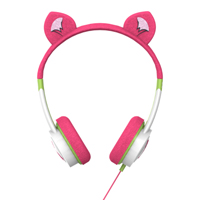 Zagg Little Rockers Kitten Headphones - Pink