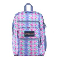 "Jansport Big Student Laptop Backpack Fits Screens up to 16"" - Horizon Tie Dye"
